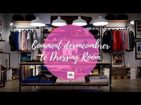 COMMENT FAIRE POUR SE DESENCOMBRER : Le Dressing VLOG#03