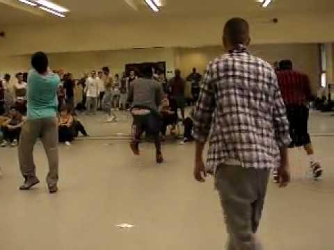 Mark Summers Dance Auditions 2009 London UK part 20
