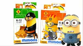 Minion Lego Set - Pirate and Orker