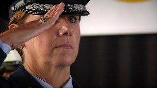فيديو..تعيين أول امرأة كقائد بسلاح الجو في أمريكا