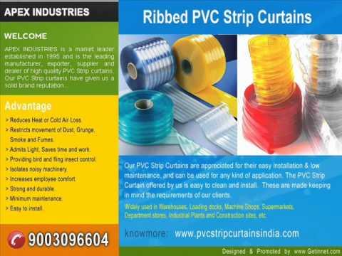 APEX INDUSTRIES - Manufacturer of PVC Strip Curtains in Chennai