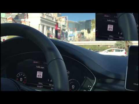 Audi V2I (Vehicle To Infrastructure) Traffic Light Information