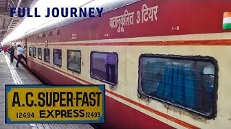 PUNE To DELHI : A Complete Journey In AC Express | Indian Railways