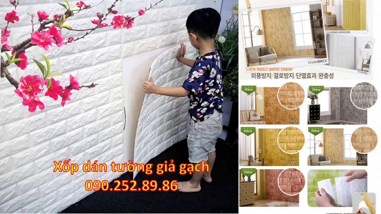 Công ty bán miếng xốp tường giả gạch Cần Thơ