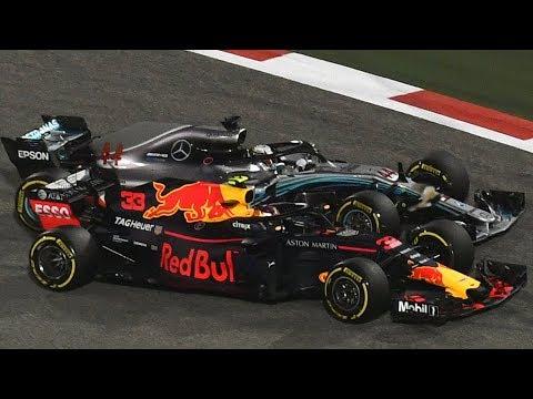 Verstappen and Hamilton Clash in Bahrain - Watch in 360