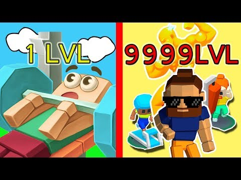 MAXED LEVEL 2000 | UNLIMITED MONEY & ALL GYMS UNLOCKED in Idle Fitness Gym tycoon v1.2.0