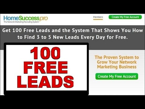 Free Mlm Leads Home Based Business How To Make Money Online