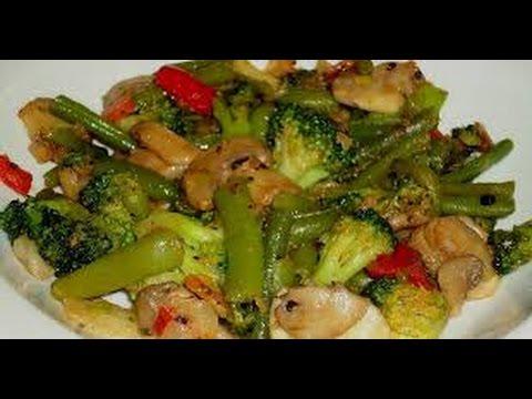 Receta saludable: Salteado de Verduras - Hogar Tv  por Juan Gonzalo Angel