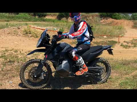 Chris Birch on the KTM 790 Adventure R
