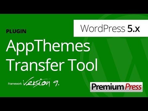 Transfer AppThemes Products To PremiumPress