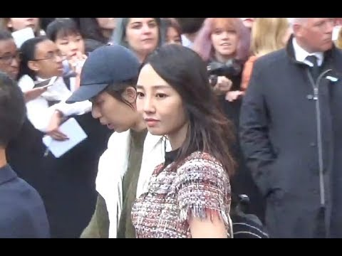 Bai Baihe 白百何 @ Paris Fashion Week 3 october 2017 show Chanel / octobre #PFW