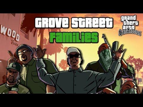 TUDO SOBRE A GROOVE STREET FAMILIES, A GANGUE DO CJ EM GTA SAN ANDREAS