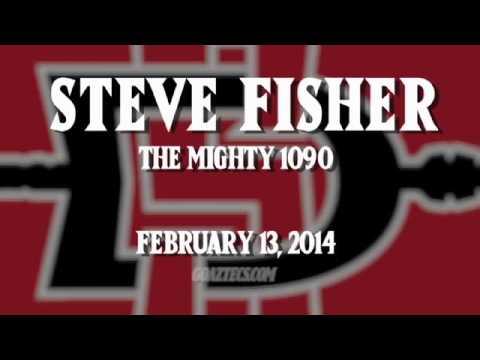 SDSU MEN'S HOOPS: STEVE FISHER - THE MIGHTY 1090 - 2/13/14