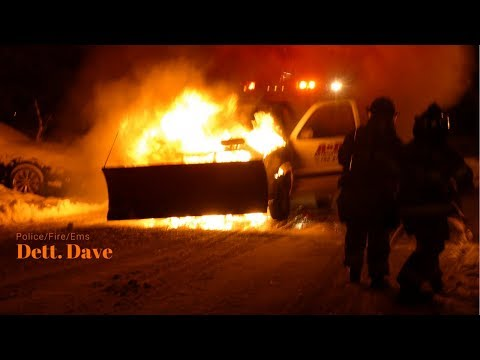 East Windsor: Firefighters Battle Fully Involved Car Fire. 03/22/2018
