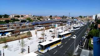 Inauguration de la nouvelle gare de Carpentras