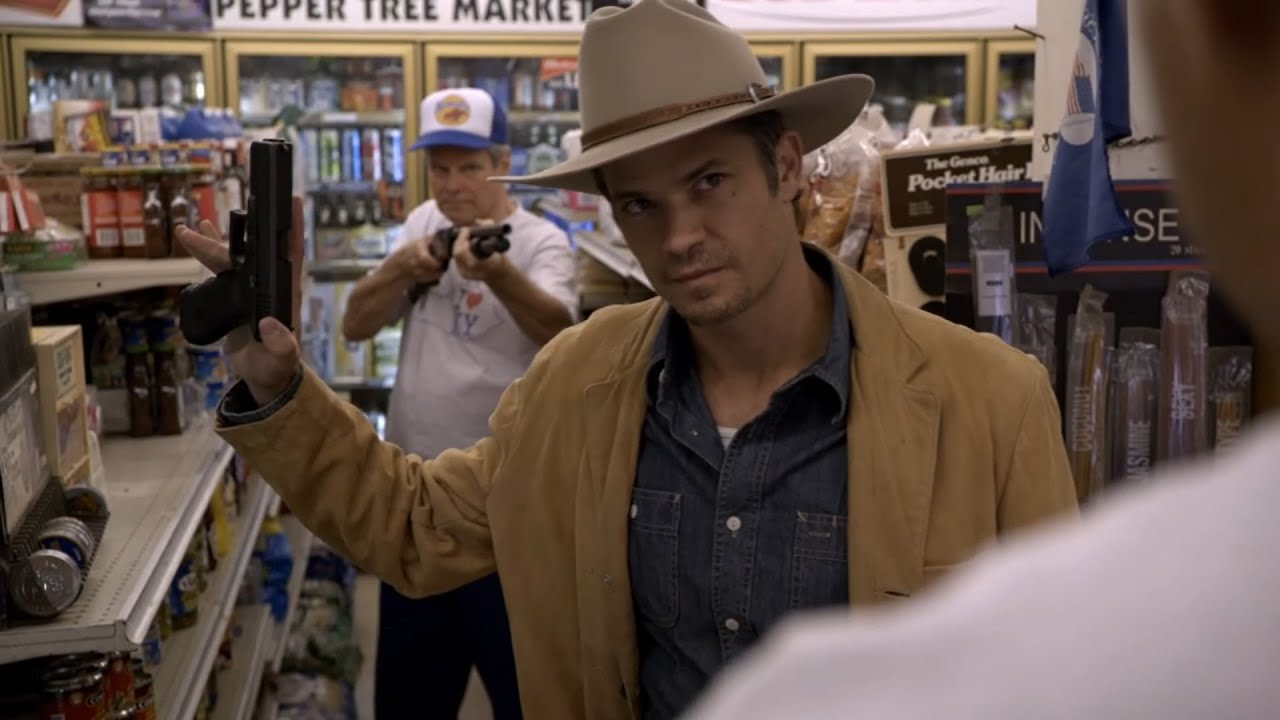 Download Gas Station Hold Up Scene (Justified)