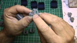 Magnetizing Landraider sponsons