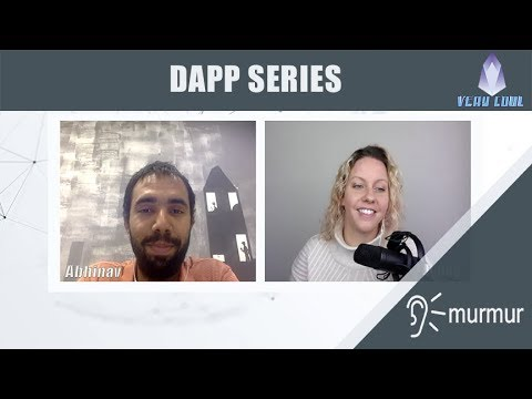 Murmur /Murmur, a microblogging platform for the EOS Blockchain. Meet Abhinav in an exclusive interview with Jenny (TopKpop) of EOS is Very Cool.