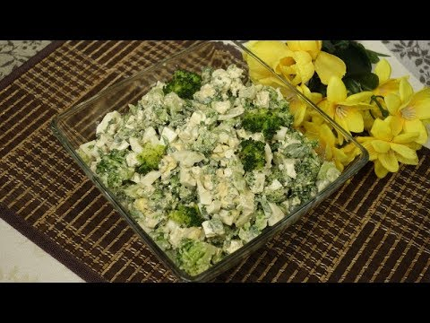 Sałatka z brokułem i twarogiem – smaczna i zdrowa