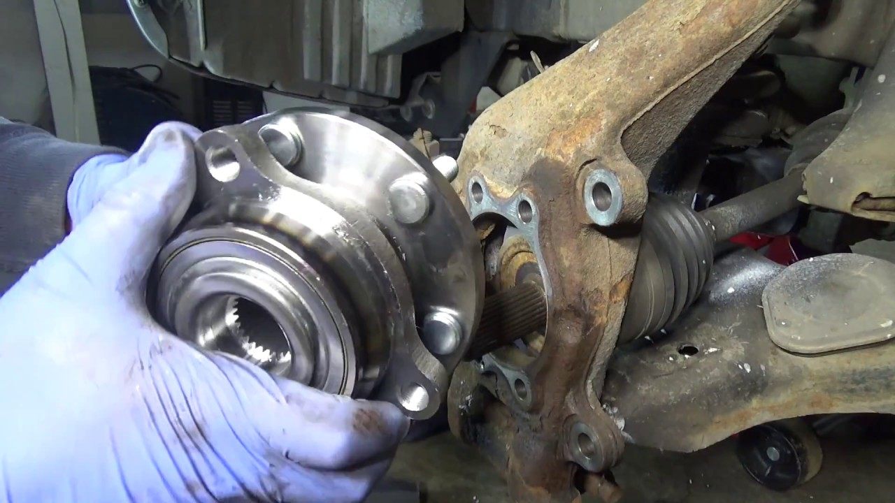 Nissan Xterra Wheel Bearing Failed Youtube