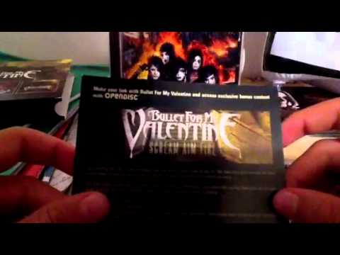 Unpacking/Opening: Bullet For My Valentine RARE 2 CDs Set (