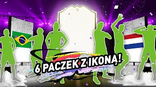 6 PACZEK Z IKONĄ! PIĘKNE I SMUTNE HISTORIE! | FIFA 20 JUNAJTED