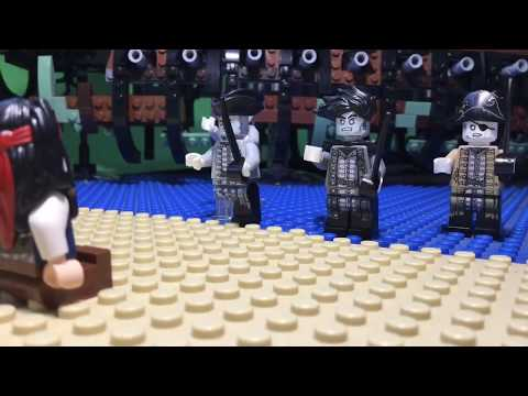 LEGO PIRATES OF THE CARIBBEAN DEAD MEN TELL NO TALES GHOST CLIP