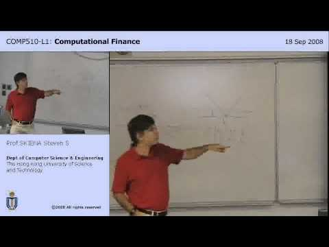 Lecture 6 - Portfolios with of Stock Options