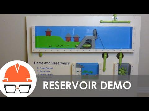 Dam and Reservoir Civil Engineer Career Day Display