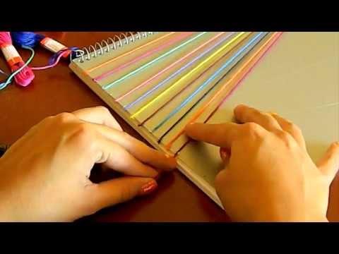 Diy decora tus cuadernos youtube - Decorar pared con tela ...