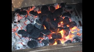 🔥💨🥩🐽 BEGINNER VIDEO - Smoking Meat - Thin & Blue prevents bitter acidic flavor