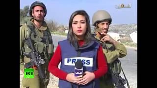 بالفيديو.. جنود الاحتلال يسخرون من مراسلة فلسطينية على الهواء
