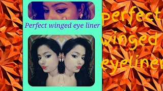 How to get perfect winged eyeliner (for beginners)