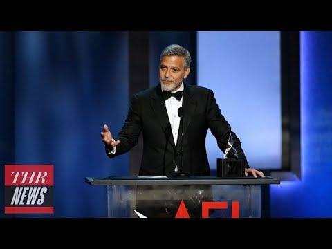 George Clooney Receives AFI Life Achievement Award, Amal Honors Him With Heartfelt Speech  THR