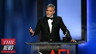 George Clooney Receives AFI Life Achievement Award, Amal Honors Him With Heartfelt Speech | THR News