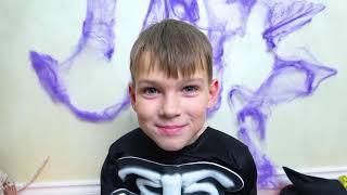 Dia de Cinco Crianças e Candy - Doces histórias para crianças