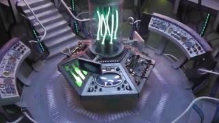 Doctor Who Matt Smith Tardis Interior Model HD Detailed