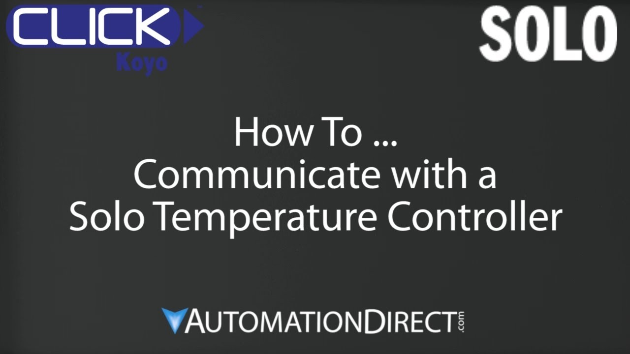 maxresdefault click plc how to use solo temperature controller youtube solo 4848 wiring diagram at gsmx.co