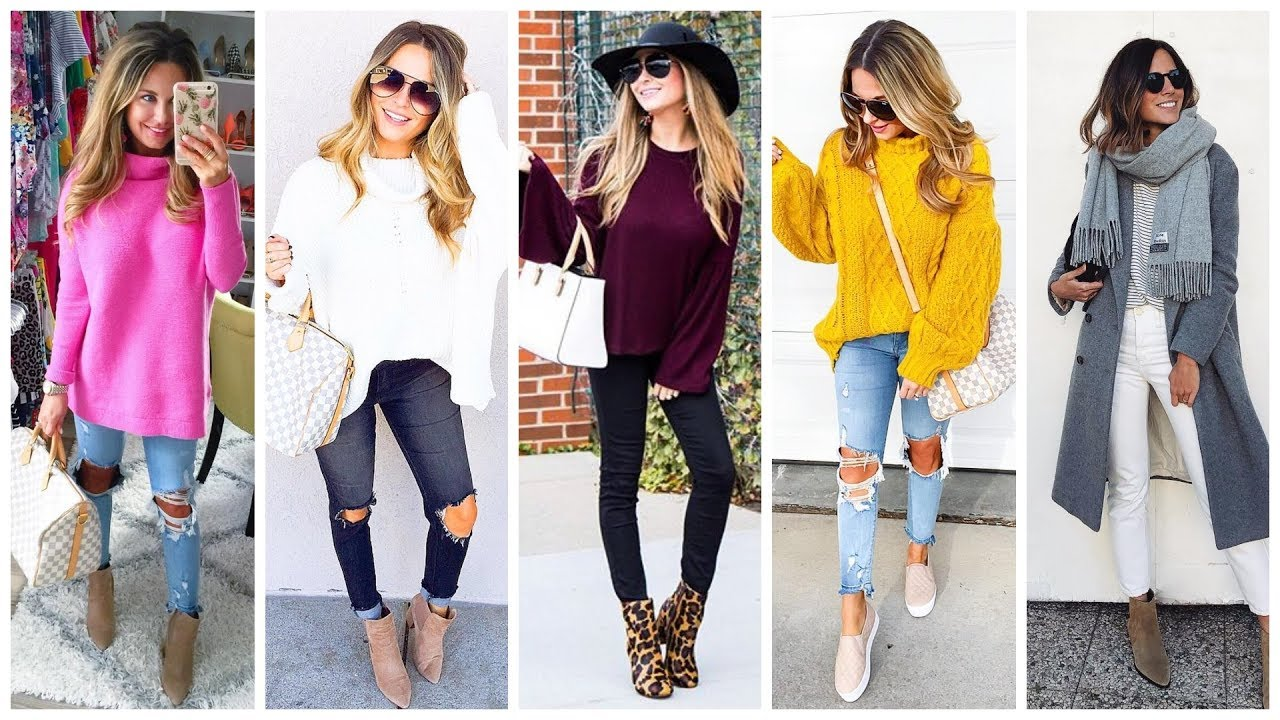 [VIDEO] - OUTFITS CASUALES OTOÑO INVIERNO 2019/2020 - FALL WINTER OUTFIT IDEAS - FASHIONISTAMODA777 2