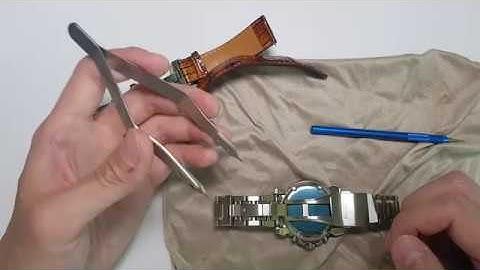 집에서 시계줄 간편하게 줄질 하는 팁 소개 및 BERGEON7825 툴 소개  feat.세이코
