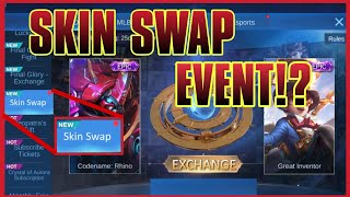 NEW SKIN SWAP EVENT! | Mobile Legends