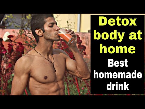 Detox your body easy at home with natural ingredients in Hindi