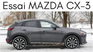 Essai Mazda CX-3 2019 | plus raffiné que jamais