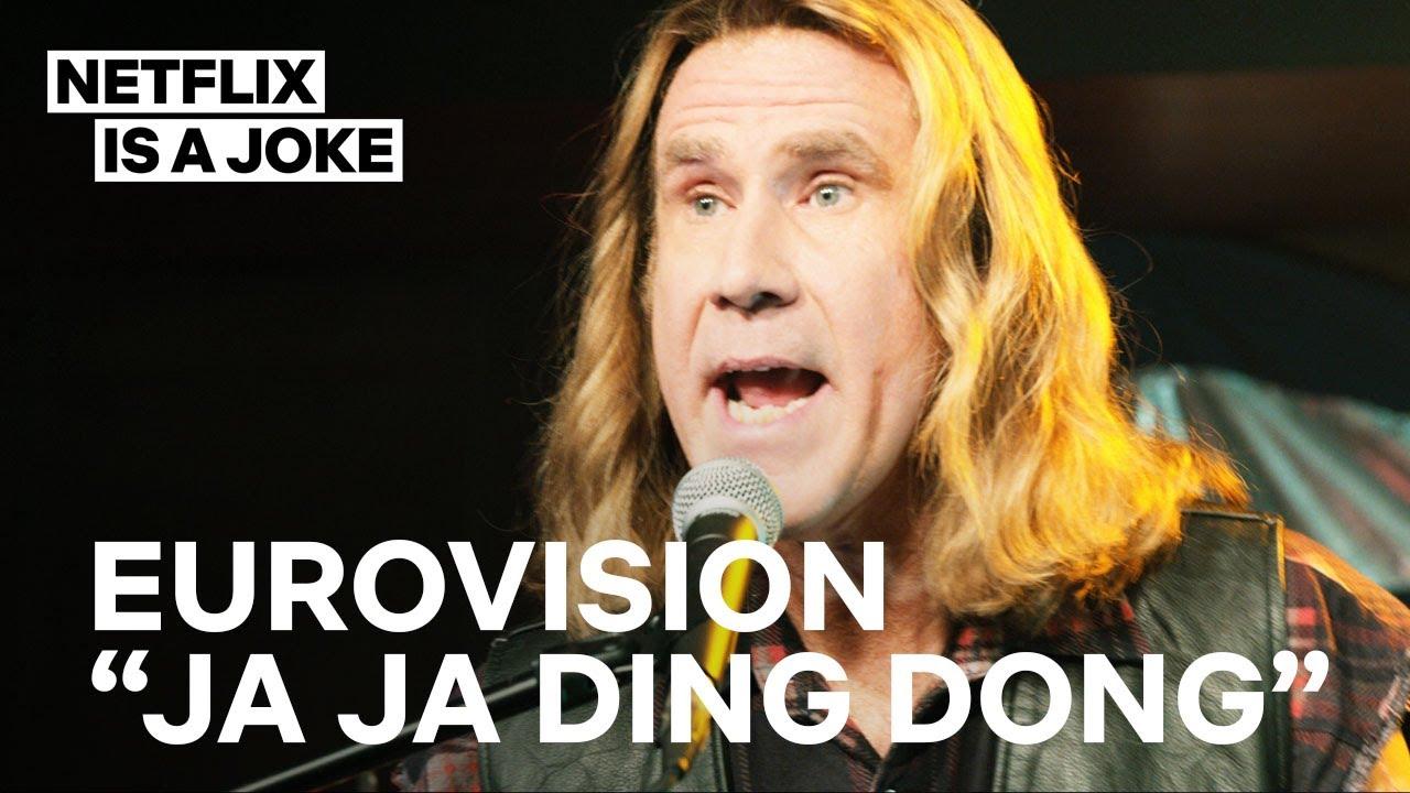 Eurovision   Ja Ja Ding Dong Full Song   Netflix Is A Joke