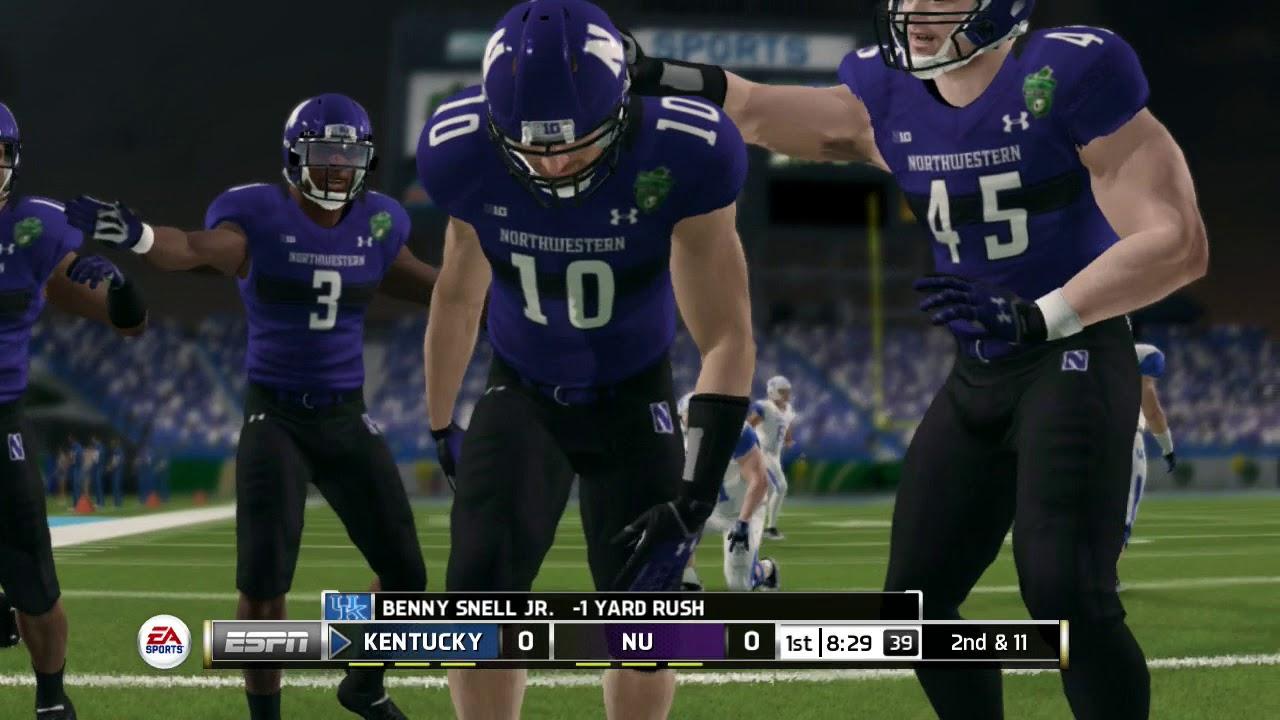 NCAA Football 14 Bowl Game Series 2017 2018 Kentucky ...