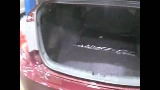Обзор багажника новой Хонда Аккорд 2013