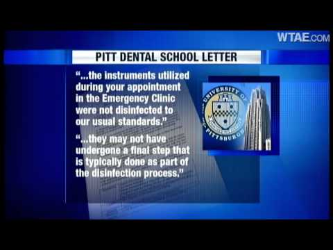 pitt dental school accused of negligence using dirty equipment