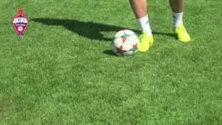 Урок №8 - Видео уроки по футбольным упражнениям от Евгения Алдонина