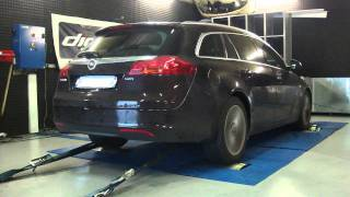 Opel Insignia cdti 110cv @ 181cv reprogrammation moteur dyno digiservices