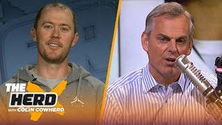 Lincoln Riley on why Kyler Murray should go 1st in Draft, Baker Mayfield's success | NFL | THE HERD